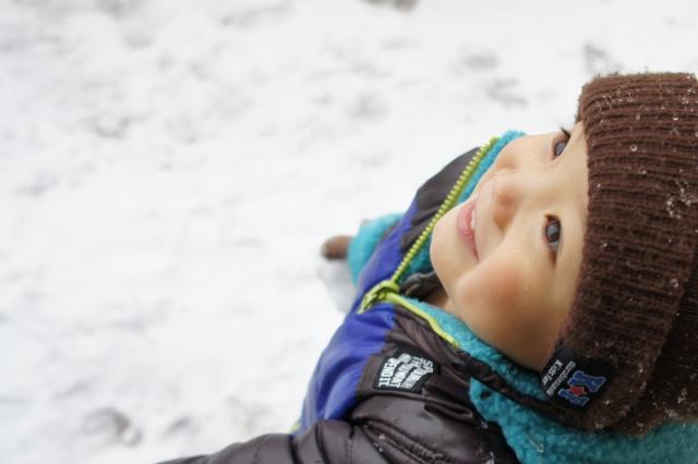 子ども 冬2