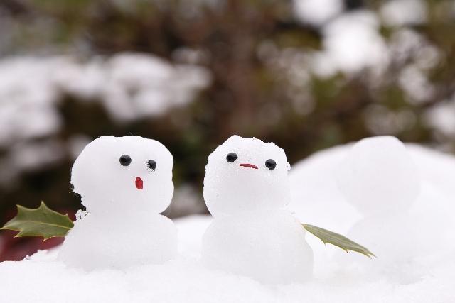 冬雪だるま2
